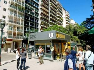 Argentinien | Buenos Aires Touristen-Information in Recoleta
