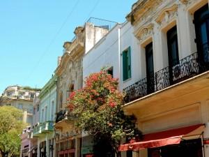 Interessante Orte: Die schönen historischen Häuser von San Telmo