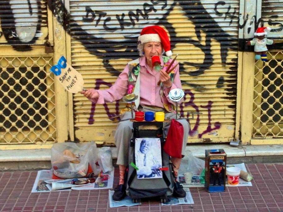 Argentinien | Buenos Aires, die coolste Künstlerin von San Telmo macht improvisierte Musik