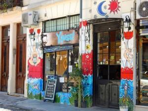 Argentinien | BA, typisches Restaurant in diesem Stadtteil