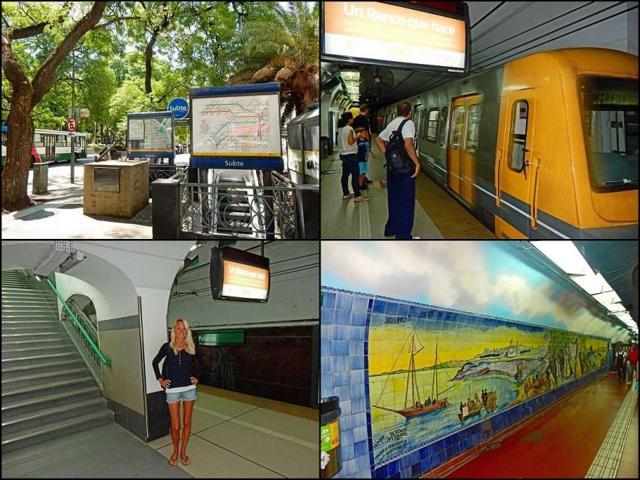 Argentinien | Das U-Bahn-Netz (Subte) von Buenos Aires ist gut ausgebaut und recht modern
