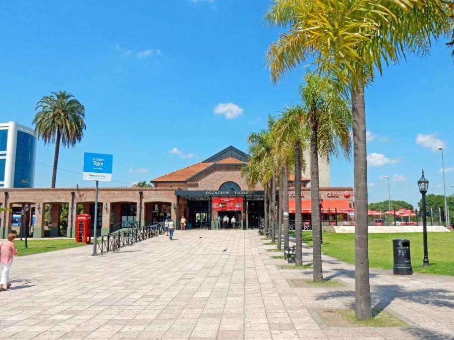 Argentinien | Der moderne Bahnhof in Tigre, Ziel der Linea Mitre von Buenos Aires Retiro ins Tigre Delta