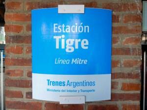 Argentinien | Die Station Tigre ist sehr gut und komfortabel von Buenos Aires zu erreichen
