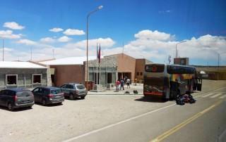 Argentinien | Das Haus zur Grenzkontrolle bei de Überquerung der Grenze von Argentinien nach Chile mit dem Bus von Salta nach San Pedro de Atacama über den Jama Pass