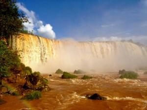 Brasilien | Floriano-Wasserfall im Parque Nacional Iguacu vom Cararatas Trail aus