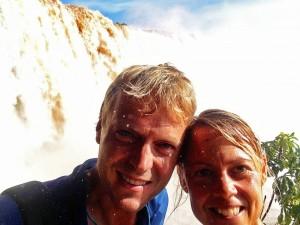 Brasilien | Auch im Parque Nacional Iguacu wird man am Floriano-Wasserfall ziemlich nass