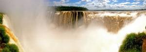 Iguazu-Wasserfälle | Panorama des Garganta Diabolo (Teufelsschlund) im Parque Nacional Iguazu