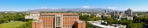 Argentinien Weinregion | Panorama von der Dachterrasse des Rathauses in Mendoza, Terraza Mirador