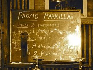 Argentinien | Typisches Menü in den Restaurants der Weinregion