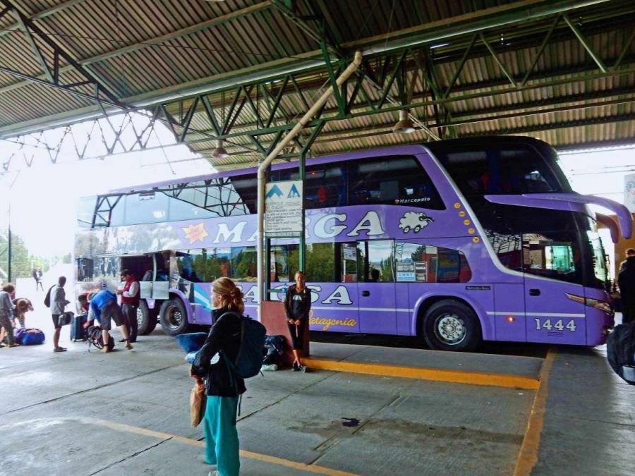 Argentinien | Patagonien, Marga Bus von El Calafate nach Bariloche