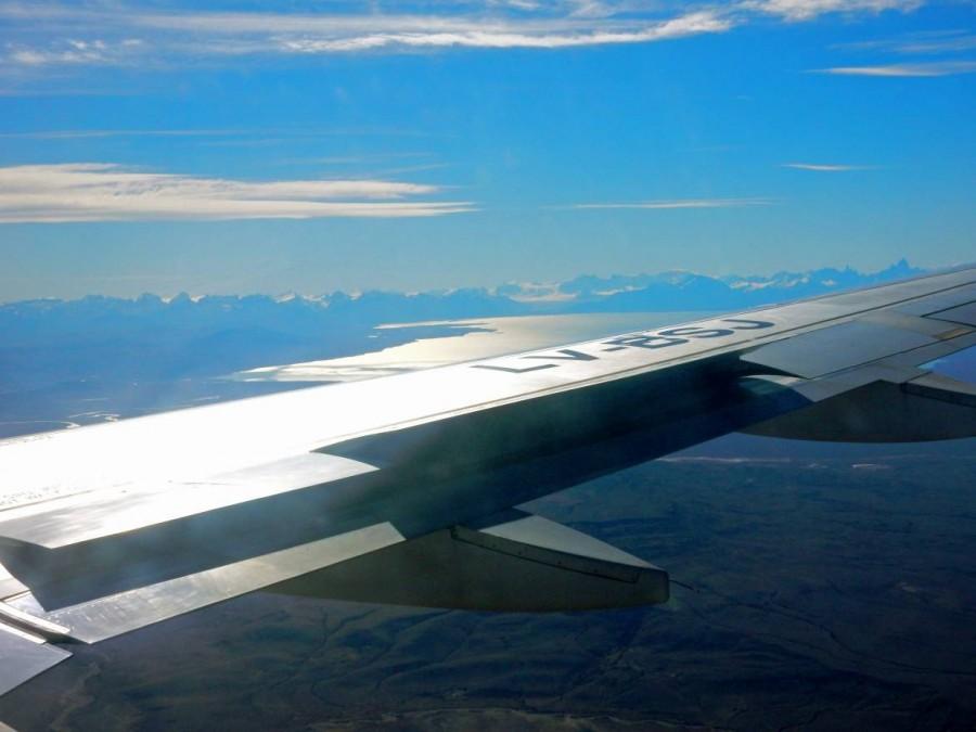 Argentinien | Patagonien, Anflug auf El Calafate
