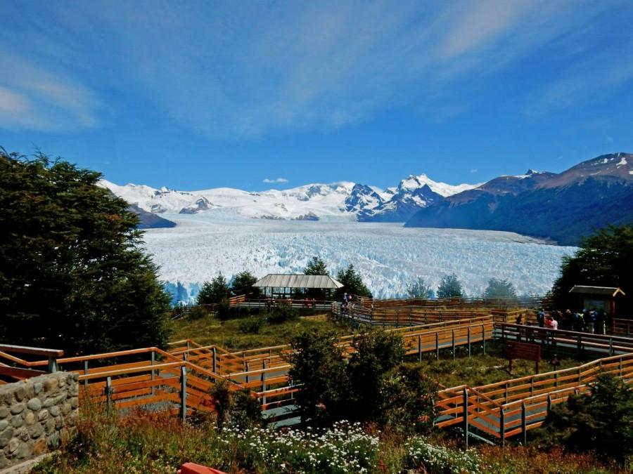 Argentinien | Patagonien, Aussichtsplattformen am Perito-Moreno-Gletscher bei El Calafate