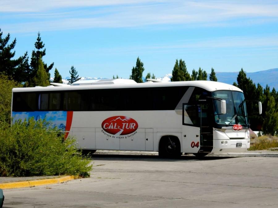 Argentinien | Patagonien, Bus-Transfer zum Perito-Moreno-Gletscher bei El Calafate