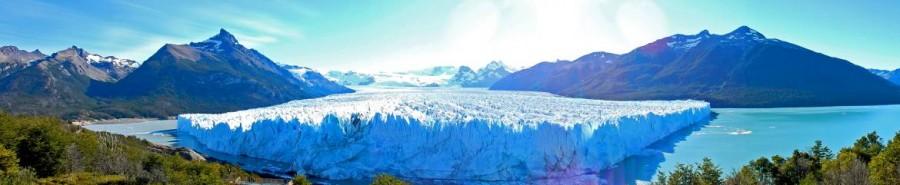 Argentinien | Patagonien, Panorama der Tiefe des Perito-Moreno-Gletschers bei El Calafate