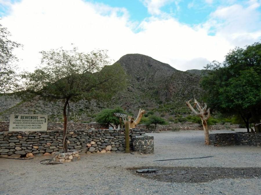 Argentinien | Eingang zu den Ruinas del Quilmes bei Cafayate