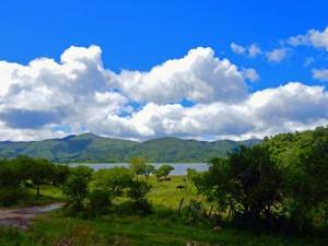 Argentinien | Panorama auf die Seen bei El Carmen auf der Quebrade de Humahuaca nach von Salta nach Tilcara