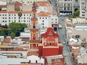 Argentinien | Salta, Iglesia San Francisco von oben