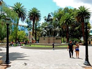 Salta Sehenswürdigkeiten: Plaza 9 de Julio