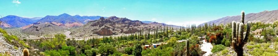 Argentinien | Panorama bei Tilcara auf der Quebrada de Humahuaca