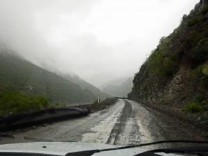 Argentinien | Regen auf der RN51 von San Antonio de los Cobres nach Salta Regen