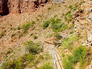 Argentinien | Gesperrter Weg bei der Wanderung zum Garganta de Diabolo in Tilcara