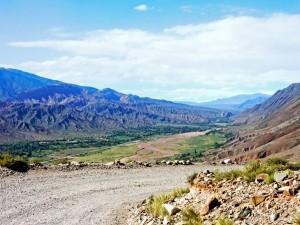Argentinien | Panorama Richtung Quebrada de Humahuaca auf der Straße zum Garganta de Diabolo