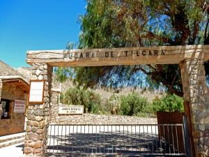 Argentinien | Der Eingang zur Festung Pucara de Tilcara in Tilcara