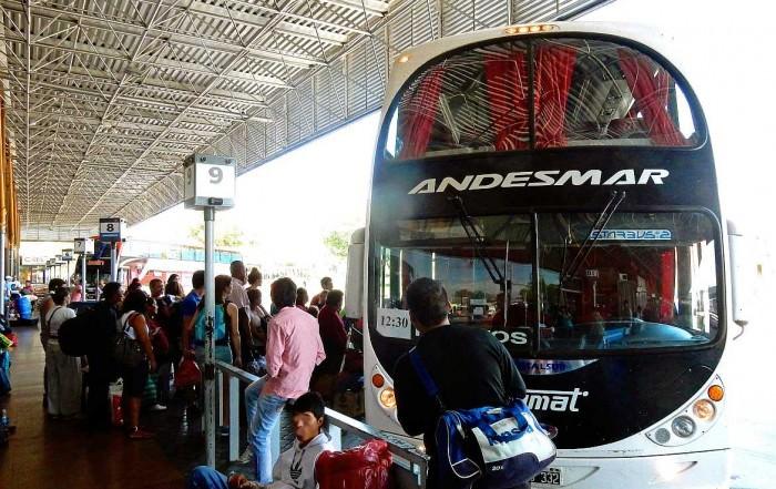 Busfahren in Argentinien | Der Bus von Andesmar war recht komfortabel und sogar pünktlich