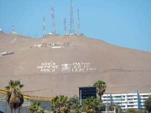 Chile | Blick auf den El Morro in Arica