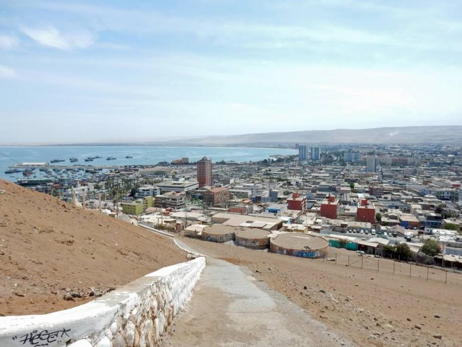 Chile | Panorama vom Weg zu Fuß auf den El Morro in Arica