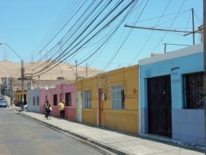 Chile | Typische Gasse in Arica