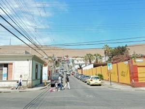 Chile | Straße ins Zentrum von Arica