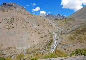 Chile | Bus Santiago - Mendoza, Gipfel am Paso Internacional Los Libertadores bzw. Uspallata Pass