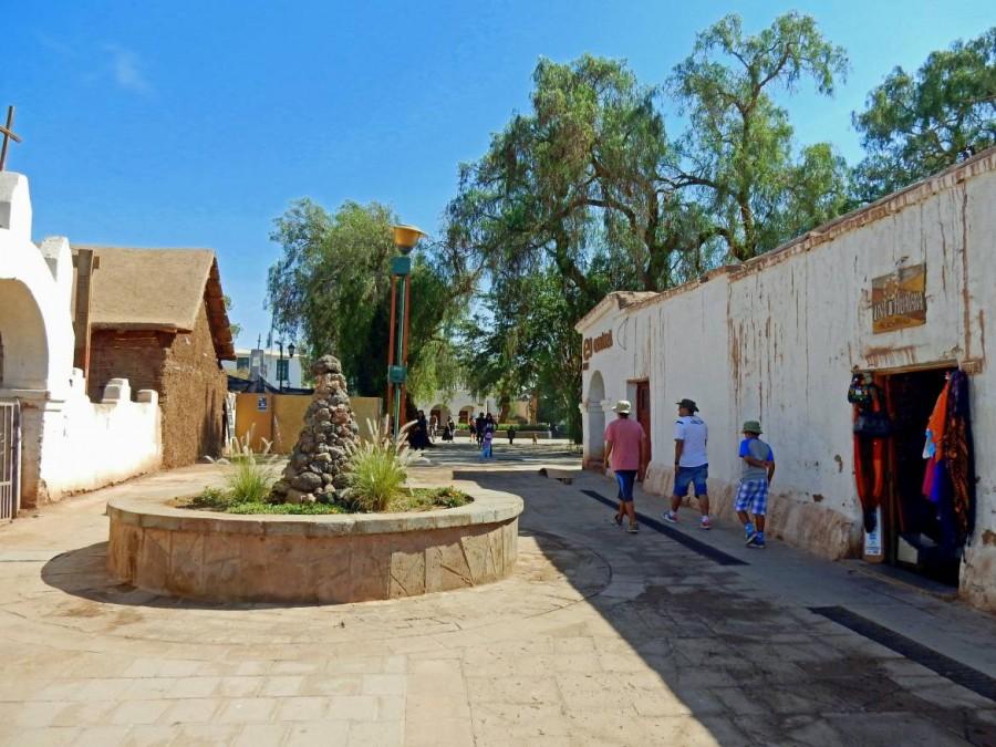 Chile | Gasse zum Plaza de Armas in San Pedro de Atacama