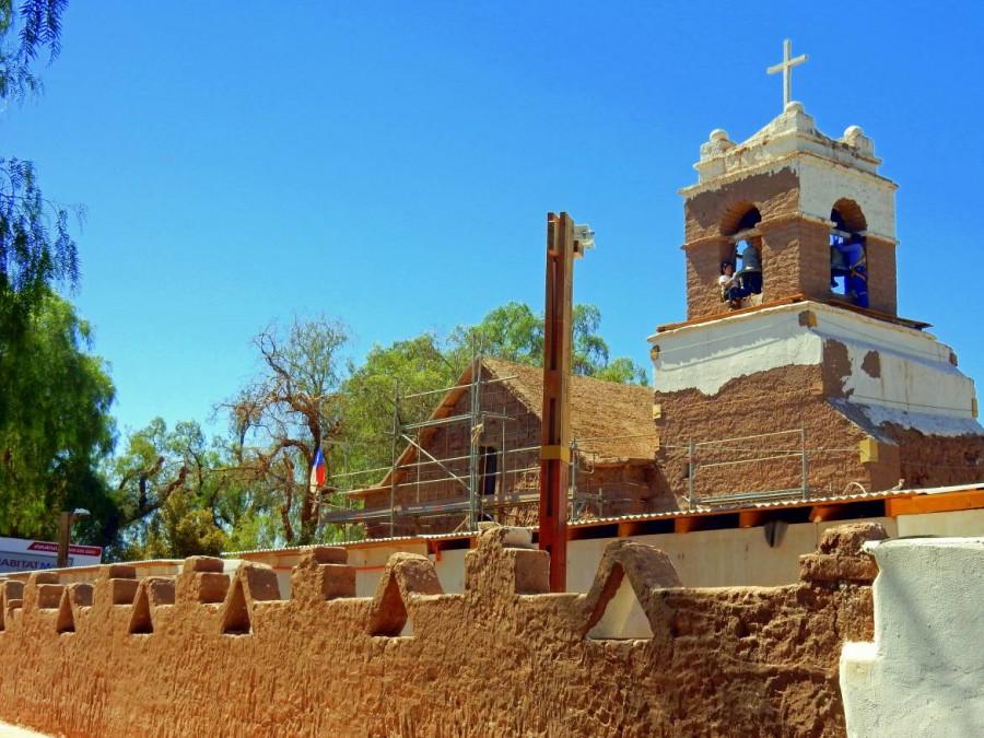Chile | Kirche in San Pedro de Atacama