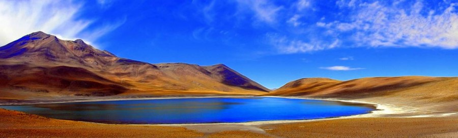 Atacama-Wüste| interessante Orte: Panorama der Laguna Miscanti