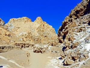 Chile | Atacama-Wüste, Trail durch das Tal des Mondes, Valle de la Luna