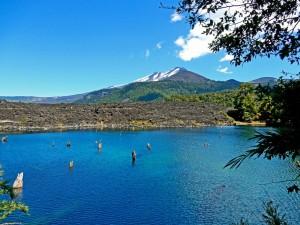 Chile | Temuco, Laguna Arcoirirs im Conguillio National Park