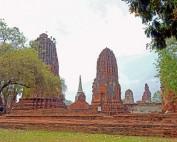 Thailand | Wat Manhathat in Ayutthaya