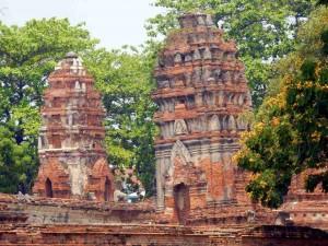 Thailand | Wat Manhathat in Ayutthaya Nahaufnahme