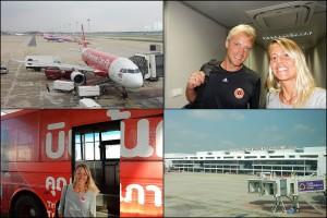 Thailand | Flug von Bangkok nach Chiang Mai