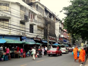 Thailand | Einkaufsstraße in Bangkok