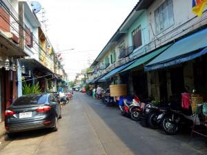 Thailand | Typische Gasse in Bangkok
