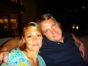 Thailand | Karin und Henning entspannt in Bangkok. Nahaufnahme Abends aufgenommen