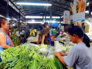 Thailand | Marktbesuch mit JeeZ beim Besuch der Kochschule in Bangkok