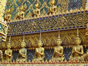 Thailand | Königspalast goldene Buddhas in Bangkok