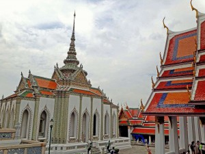 Thailand | Innenhof im Königspalast Wat Phra Keo in Bangkok