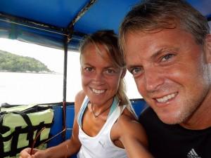 Thailand | Selfie auf der Anreise nach Koh Lipe beim Bootstransfer