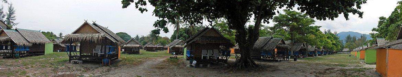 Thailand | Einfache Holzhütten am Sunrise Beach auf Ko Lipe