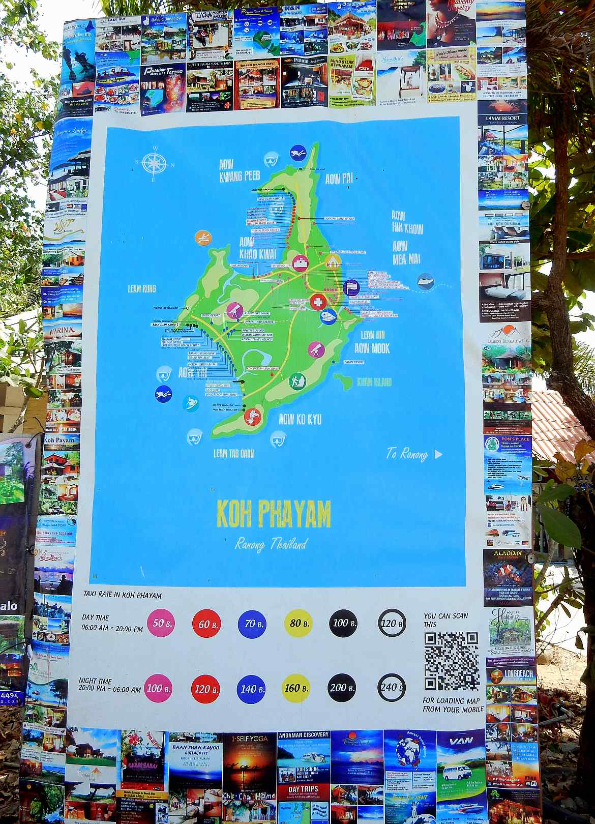 Malaria Karte Thailand.Koh Phayam In Thailand Insel Guide Inkl Tipps Reisebericht